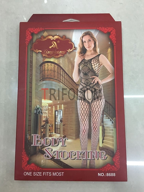 6 pieces Sexy Lingerie Net Fishnet body Stocking Babydoll 8688