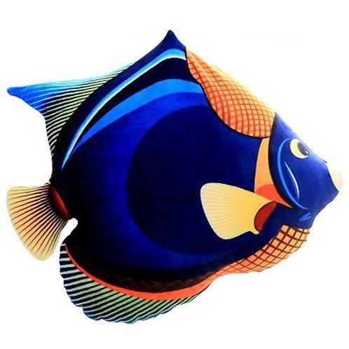 3D Fish Throw Pillows Cushions 3888 Dark Blue Fish