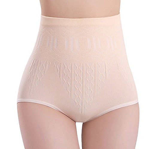 12 pieces Seamless High waist Control Brief 0208
