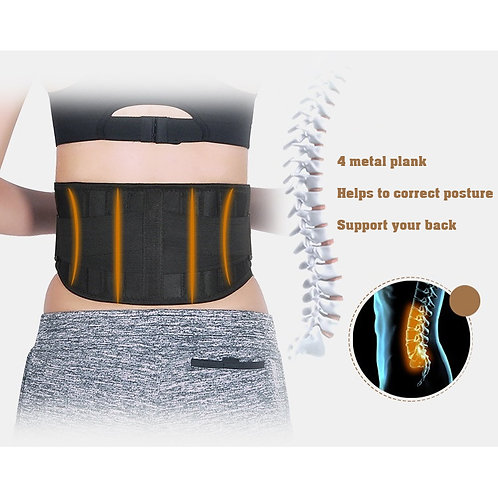 Self Heating Metal Support Healthy Waist Belt