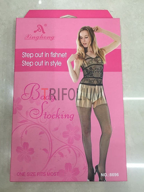 6 pieces Sexy Lingerie Net Fishnet body Stocking Babydoll 8696