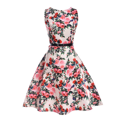 11 style Pattern Summer Sleeveless Dress 6224-style 04