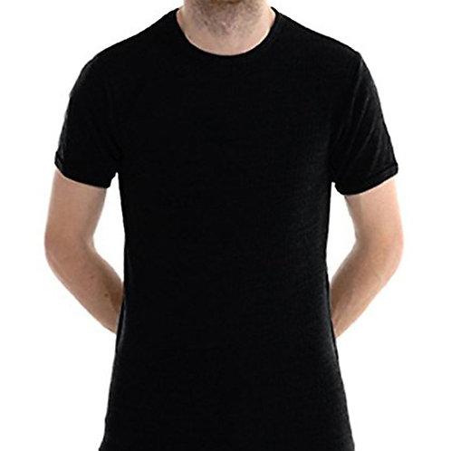 6 pieces Mens Thermal Underwear Short Sleeve Top Shirt Vest