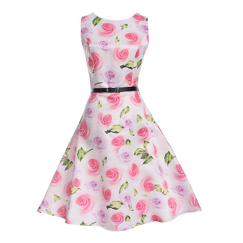 11 style Pattern Summer Sleeveless Dress 6224-style 06