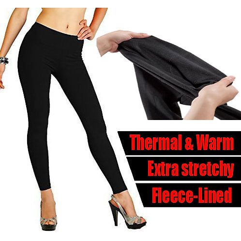 1 dozen Fleece lined thermal leggins 3624