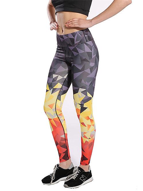 Yoga Running Fitness Fashion Quality Digital Print Pattern Leggings 2027