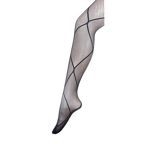 6 pack Fishnet Net Pattern Pantyhose Tight 1625
