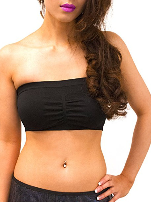 Seamless Non-Padded Bandeau Top 8529