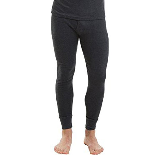 6 pieces Mens Thermal Underwear Long Johns Open Cochy Full Length
