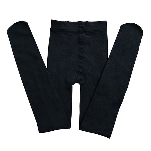 3 pieces kids children tights black colour 1201