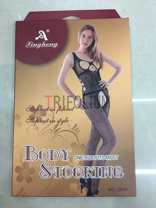 6 pieces Sexy Lingerie Net Fishnet body Stocking Babydoll 8699