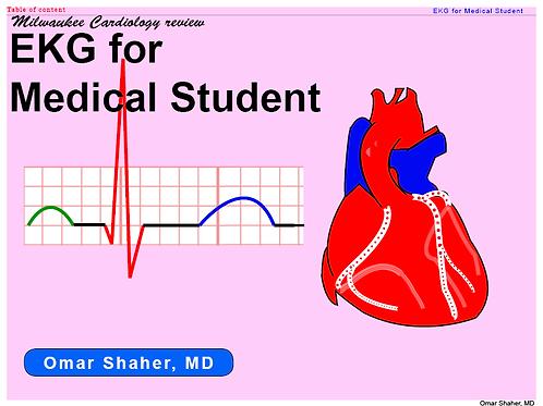 EKG for medical students