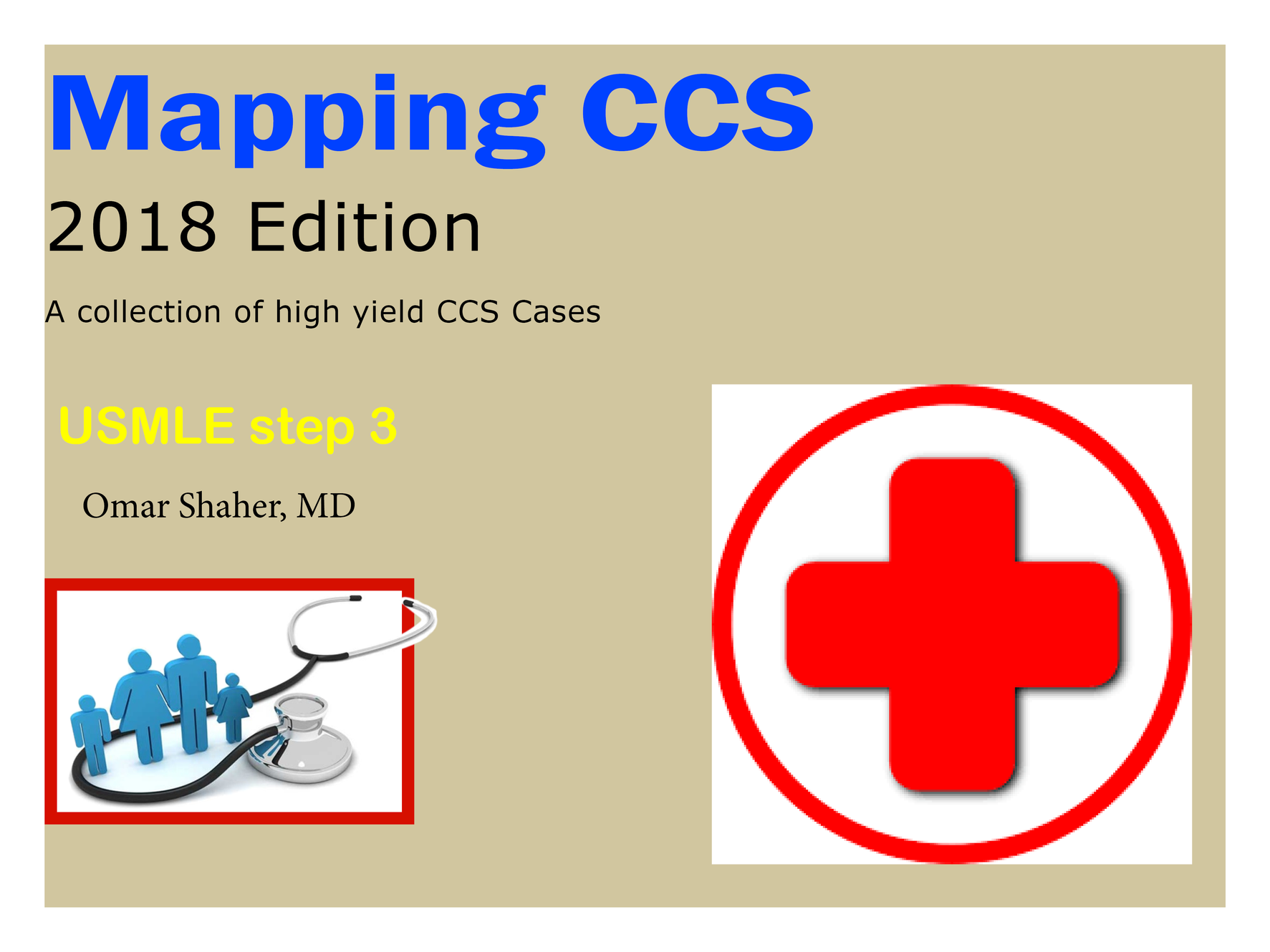 FREE CCS Evaluation, USMLE Step 3, Mapping CCS