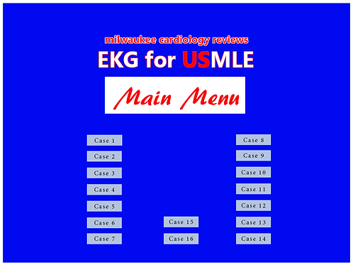 EKG for USMLE, Milwaukee Cardiology Review