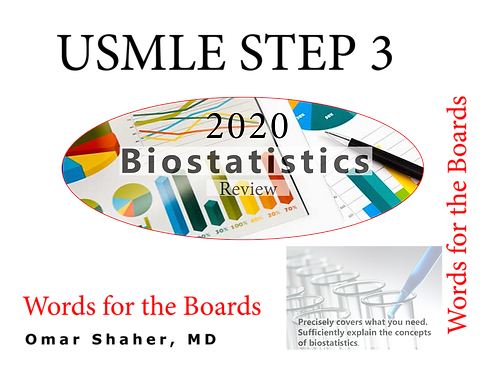 2020 Words for the Boards, Bio-statistics Review