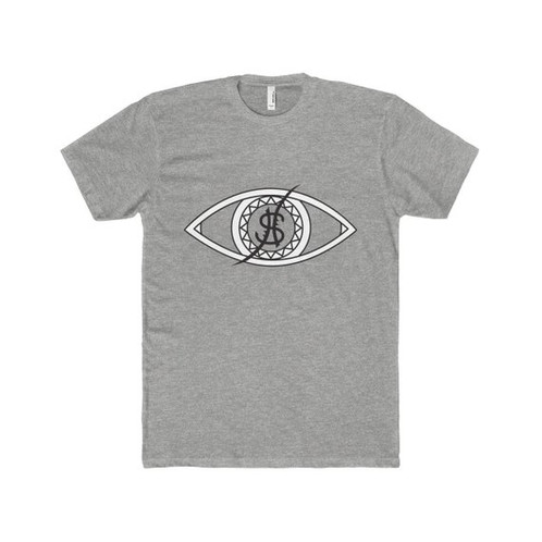 269b9f5398 Super-soft and light, this premium fitted short sleeve tee is a classic  choice. Vision graphic print adds depth to a clean aesthetic.