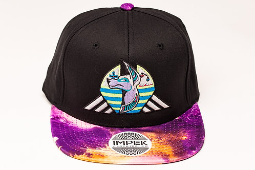 Cosmic Guardian Snap Back Hat - Deep Space V1