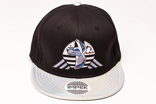 Cosmic Guardian Snap Back Hat -Prismatic Hologram Brim