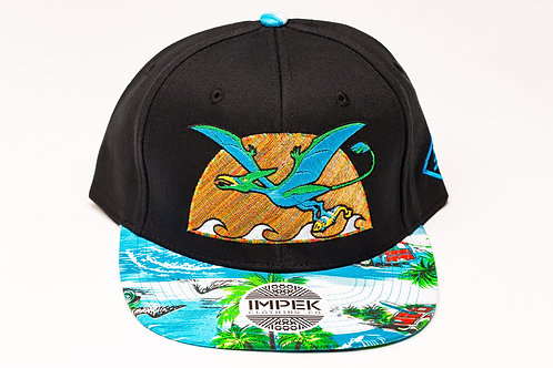 Primal Isle Snap Back Hat - Coral Reef