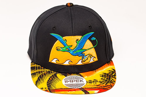 Primal Isle Snap Back - Tangerine Sunset