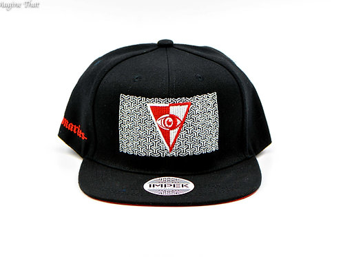 Visionaries x IMPEK 3rd Eye Snap Back Hat - Red Eye