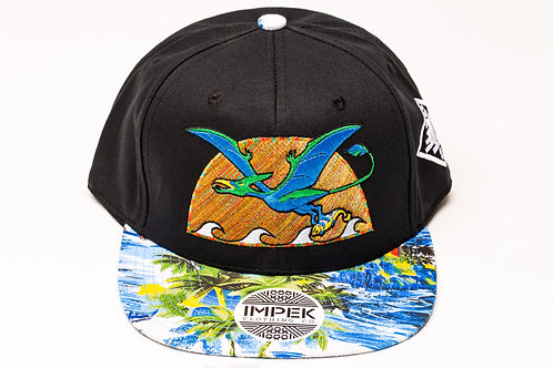 Primal Isle Snap Back Hat - Sky Blue