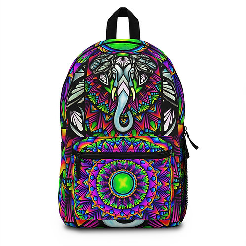 Fractal Pacoderm Back Pack (Made in USA) -Halee Sutherland Collection