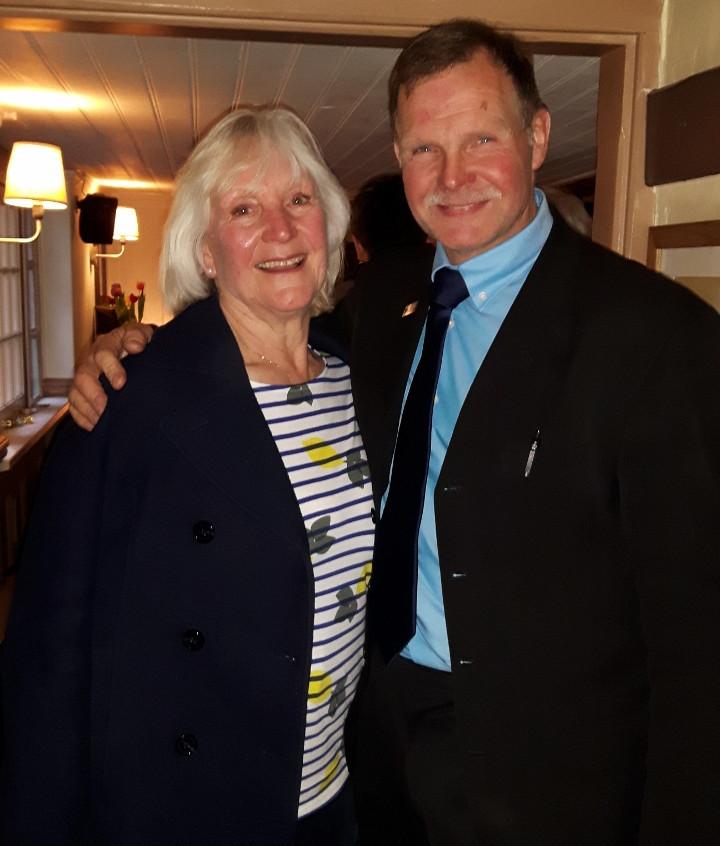 Jackie with Bryan Hewitt
