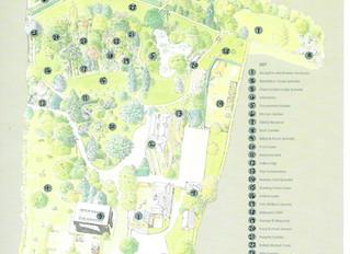 Map of Myddelton House Gardens