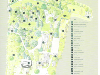 Map of Myddelton House Gardens