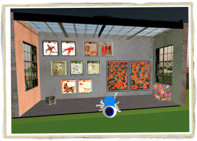 Gallery Space in Second Life