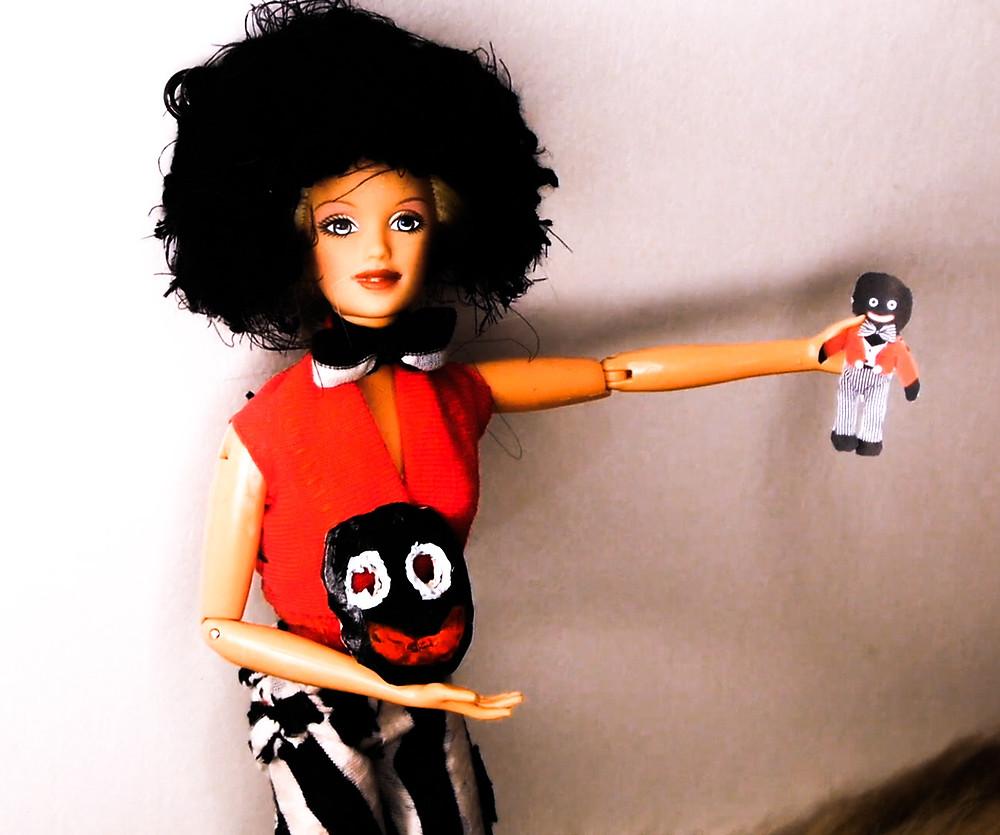 Gollywog White Privilege Doll