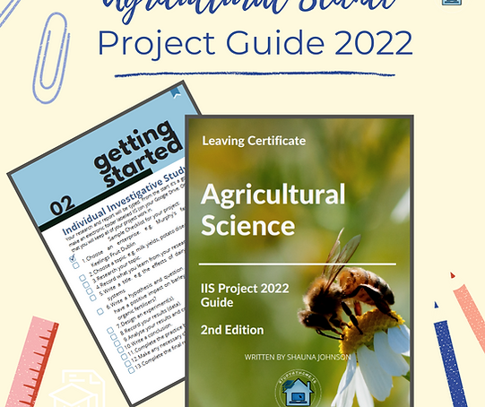 Ag Science Project Guide 2022
