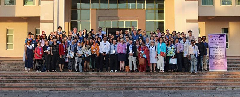 ARWA2019 group photo