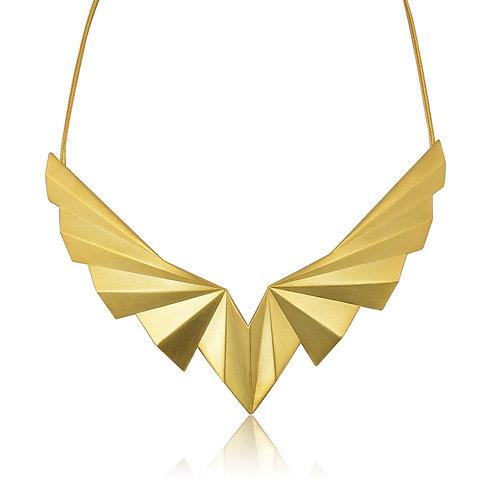 Grand Folds Necklace