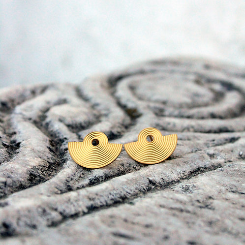 Small Amphitheater Earrings