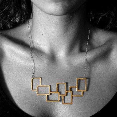 Seven Squares Necklace