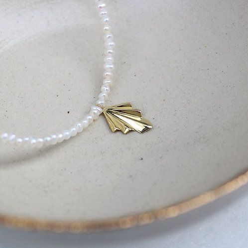 Pearly Necklace in 14k  18k