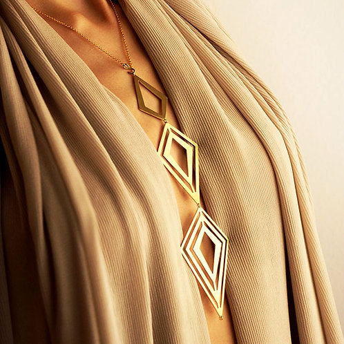 Triangle Two Ways Necklace