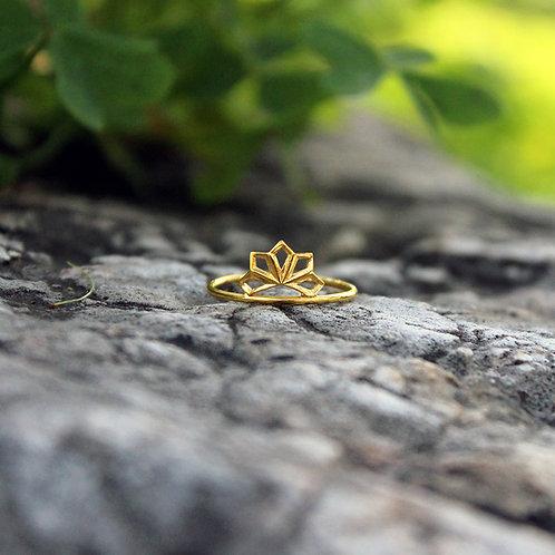 Micros _ Five Leaves ring