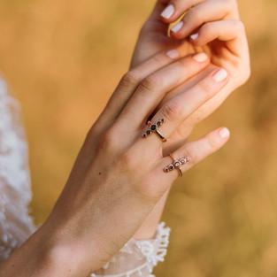 Minimal Rose Gold 14k Rings