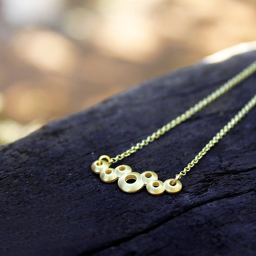 Domed Bubbles Necklace