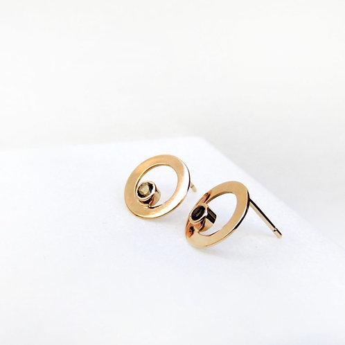 Grapes Earrings in 14k |18k