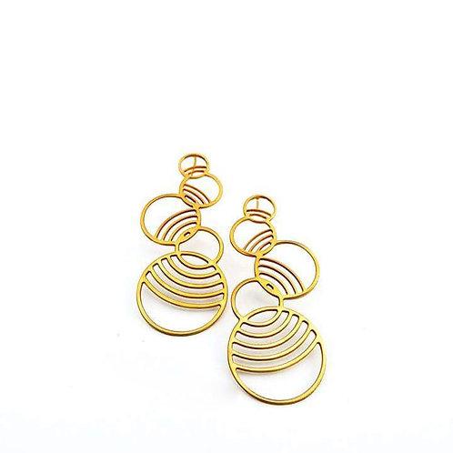 Fractal Cyclical Earrings