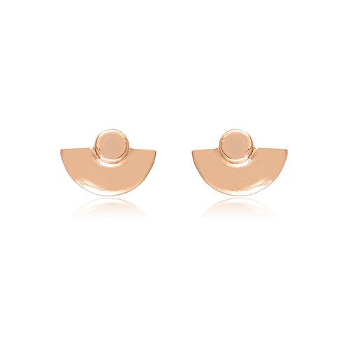 Micros _ Amphitheater Earrings in 14k | 18k Gold