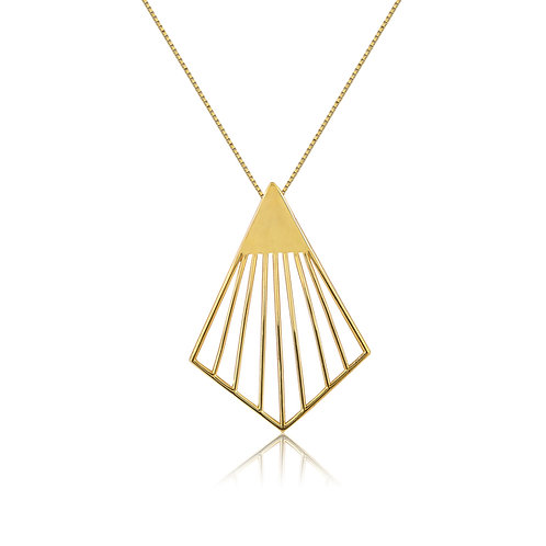 Chords Long Necklace