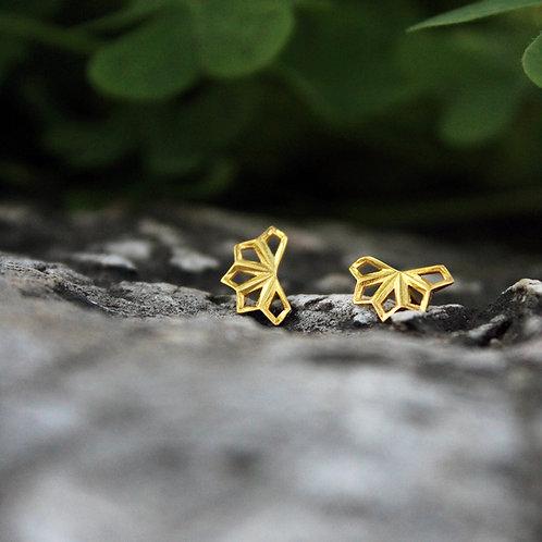 Micros _ Five Leaves earrings