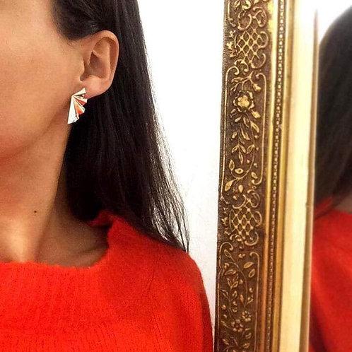Medium Folds Earrings
