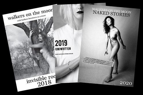 Calendar hattrick: 3 x Walkers 2018, 2019, 2020