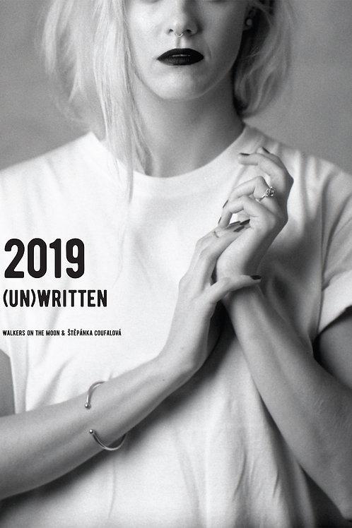 (Un)Written. The 2019 calendar